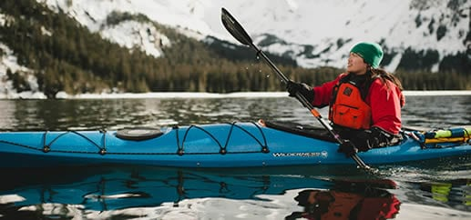 A flat bottom kayak offers exceptional primary stability