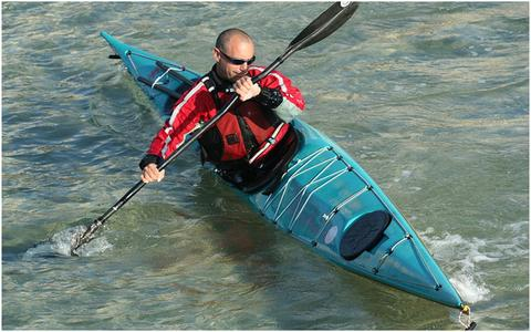 A kayak with rounded sides offers exceptional secondary stability