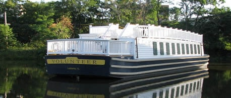 Canal boat USA