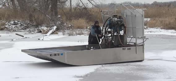 Ice airboat