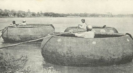 Traditional Kuphar boats