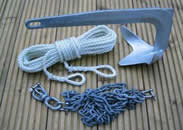 anchor rope and anchor chain