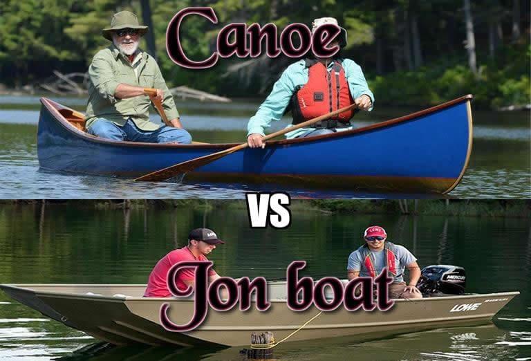 canoe vs jon boat