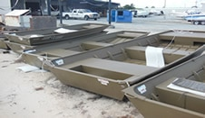 collection of Jon boats
