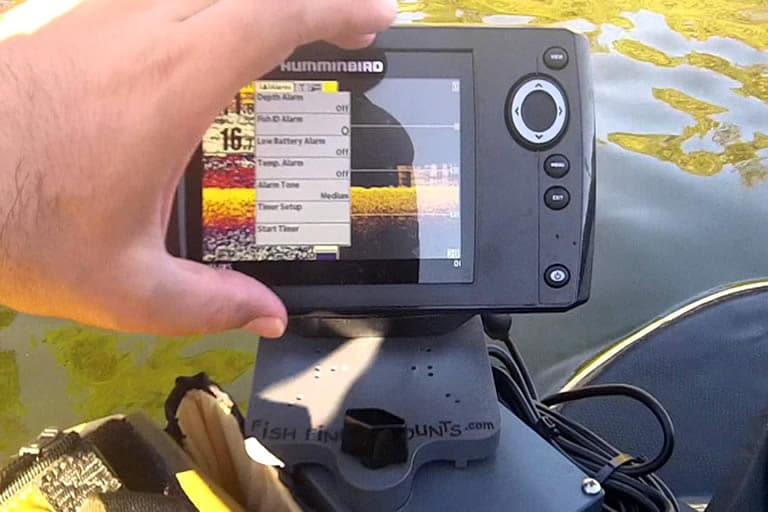 how to install a fish finder on a Jon boat