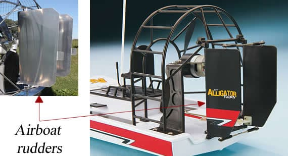 airboat rudders