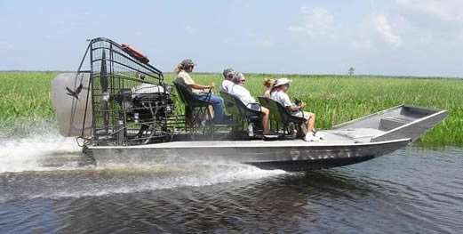 fast airboat tour