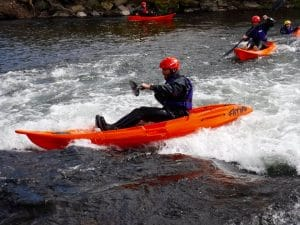 Whitewater sit on top kayak