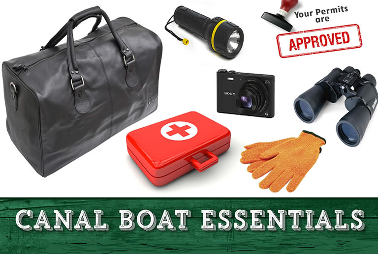 Canal boat essentials