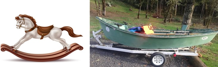 why is a drift boat curved?