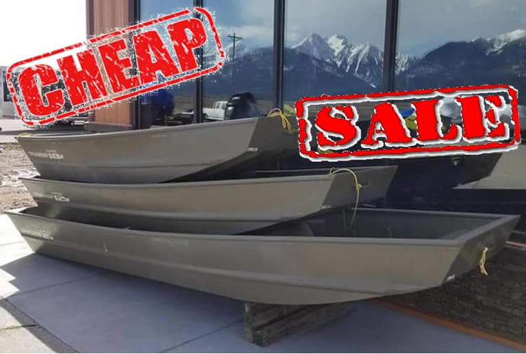Cheapest Jon boats