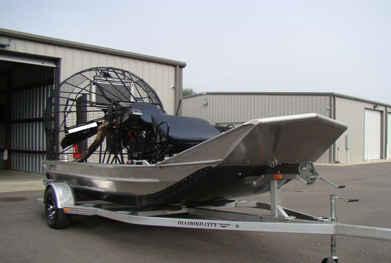Expensive airboat